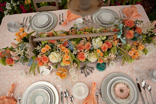 Wedding Mismatched Vintage China