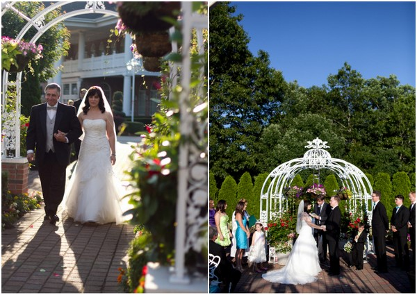 Casual Outdoor New York Wedding