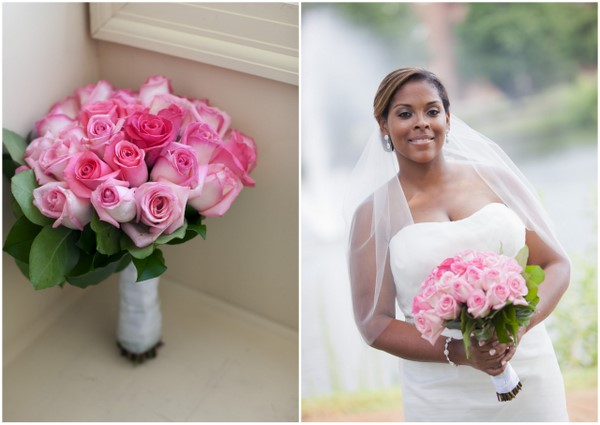 Pretty Pink Traditional Virginia Wedding Colors