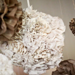 Burlap Lace Buffet Table Decorations
