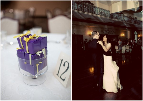 Casual Wedding Purple Favors