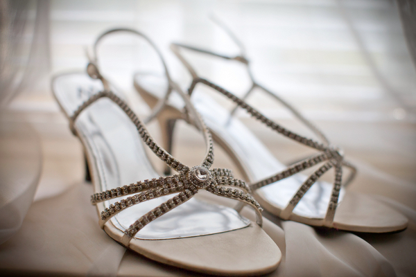 diamente wedding sandals Founders Inn and Spa Virginia Beach Wedding