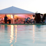 Marquee Poolside Wedding