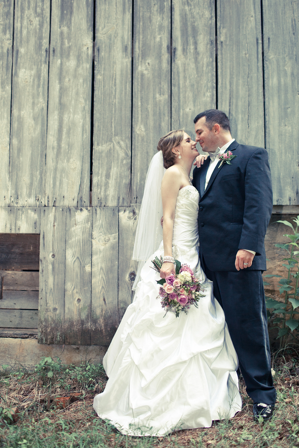 Real Weddings Tennessee Bridal Couple