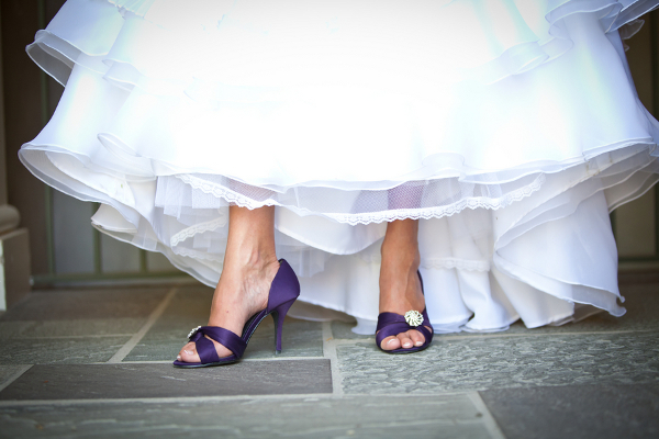 Bride Purple Shoes