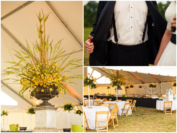 Farm Wedding Marquee