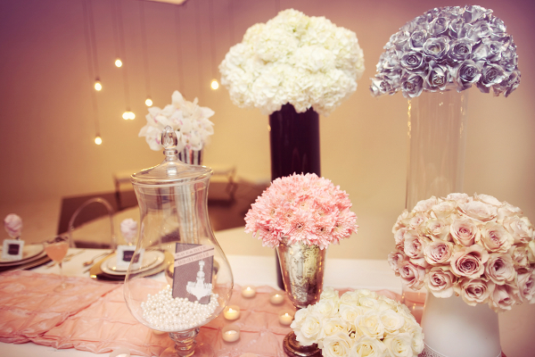 Modern Glam Wedding Table