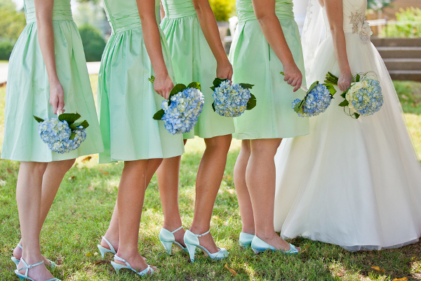 Pastel Blue Green Wedding Colors
