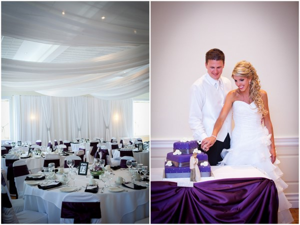 Purple Modern Wedding
