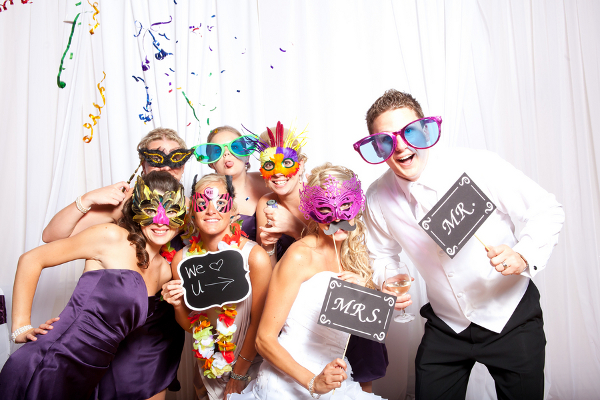 Purple Wedding Fantasy Photo Booth