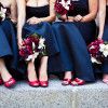 Traditional Red & White Edmonton Wedding by Just For You Photography