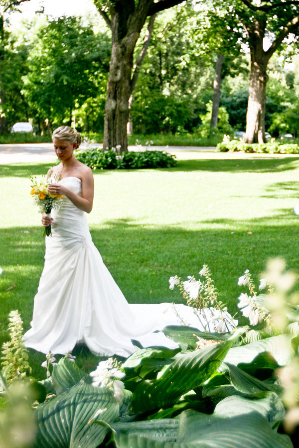 Country Club Traditional Bride