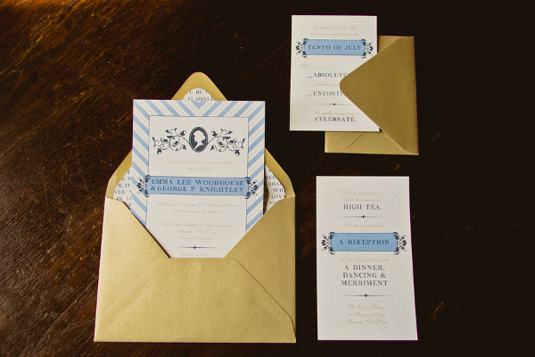 Jane Austen Inspired Invitations