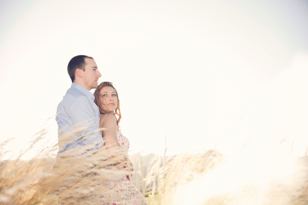 Soft Light Filled Outdoor E Session