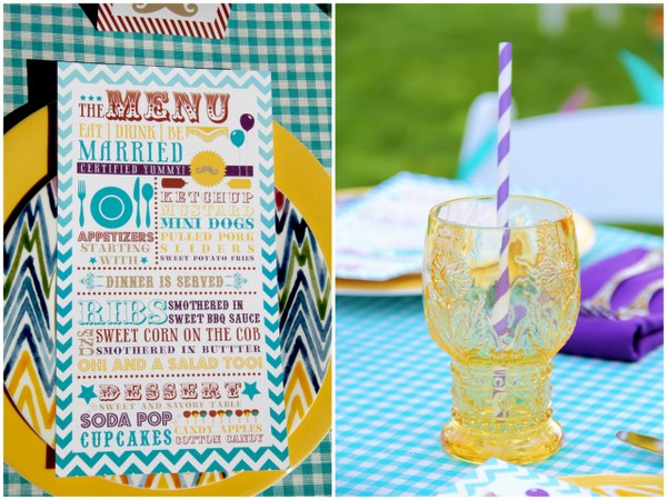 vintage themed stationery Vintage Summer Carnival Wedding Theme