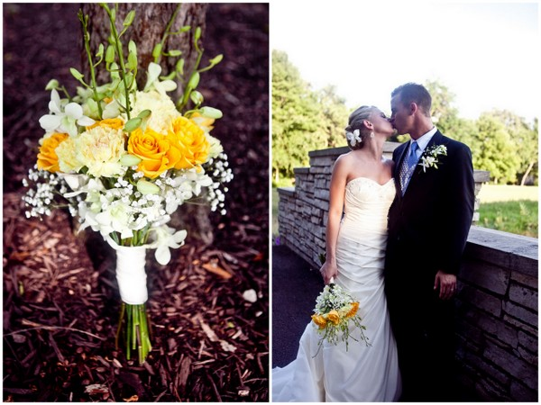 Yellow & White Loose Bouquet