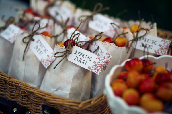 Cherry Wedding Favours