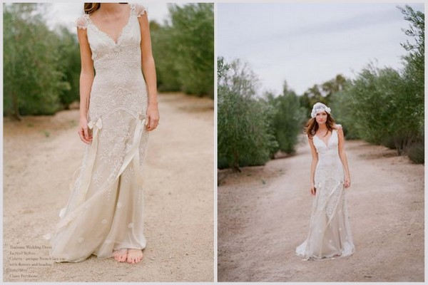 Claire Pettibone Toulouse Wedding Dress