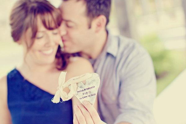 Engagement Photography Silver Heart