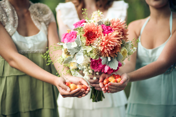 Garden Wedding Summer Bouquet