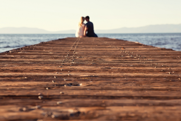 Lake Tahoe Engagement Shoot