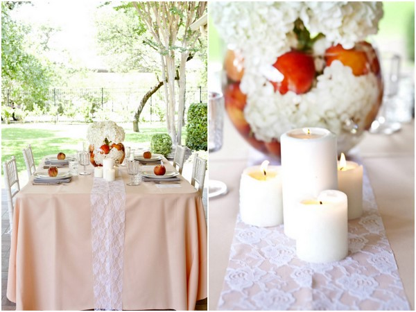 Peach wedding theme you could easily diy bouquet peach wedding theme junglespirit Gallery