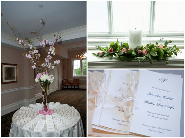 Pink & Gold Country Club Wedding