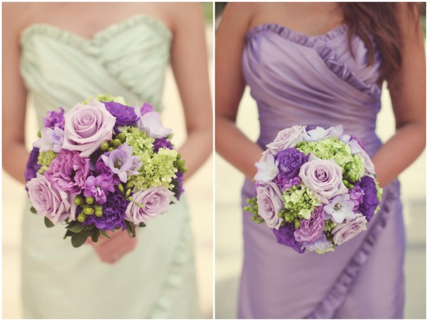 Football Fields & Fairy Floss: A Green & Purple Ohio Wedding
