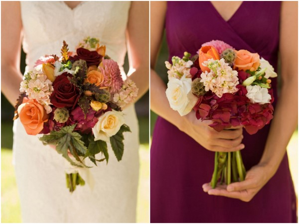 Simple Outdoor Wedding Flowers