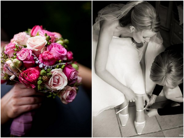 Traditional Wedding Pink Bouquet