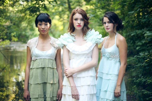 Vintage Garden Bridesmaid Dresses