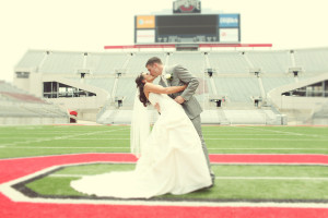Wedding Football Field