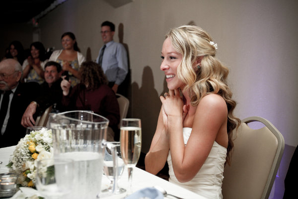 Bride Watching Dance Show
