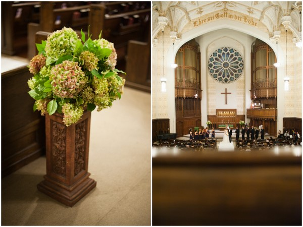 Cathedral Wedding Decor