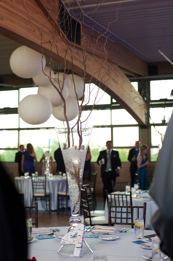 Contemporary Wedding Centrepieces