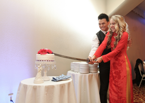 Cutting The Cake Ninja Style