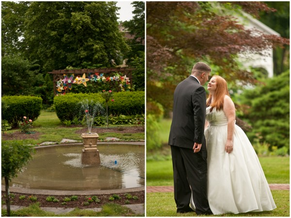 diy garden wedding Homemade Garden Wedding in Newark New York
