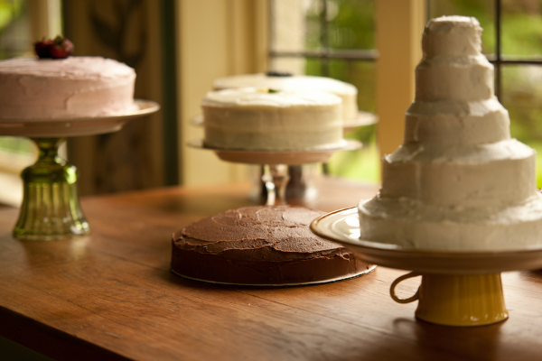 Handmade Wedding Cake Buffet