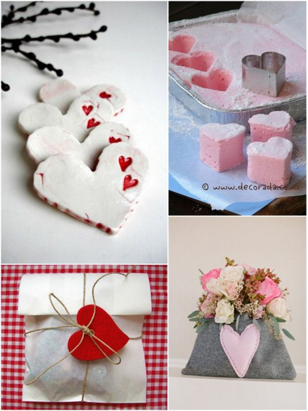 Heart Themed Wedding Favours