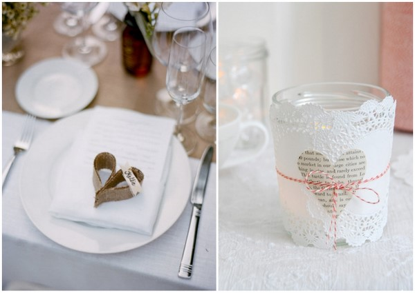 heart themed wedding table decor Heart Themed Wedding Ideas To Quicken Your Pulse