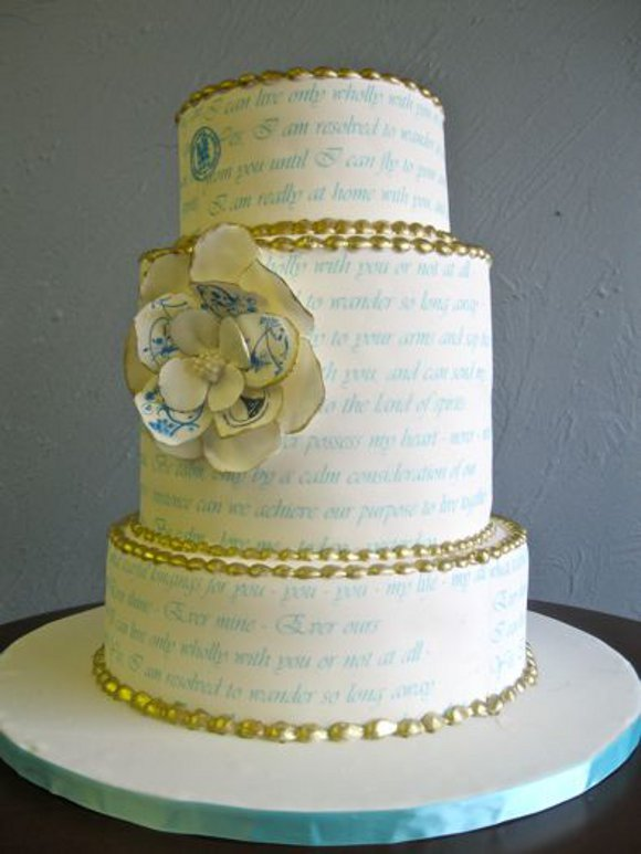 Old looking paper cake ideas and designs