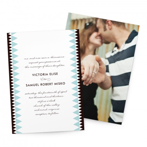 Modern Wedding Invitation