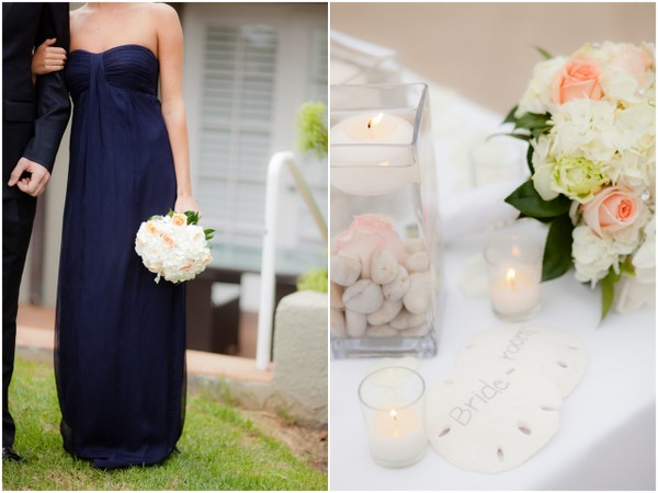 Navy, Grey and White Wedding Colours