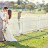 Pretty Pastel Outdoor Wedding by Janine Kaye Photography