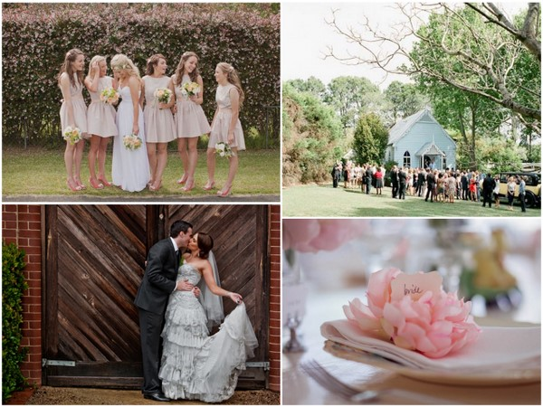 real weddings australia {Week of Bliss} Amazing Dresses, Awesome Decor & An Adorable Cake!