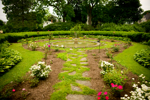 vintage garden wedding new york Homemade Garden Wedding in Newark New York