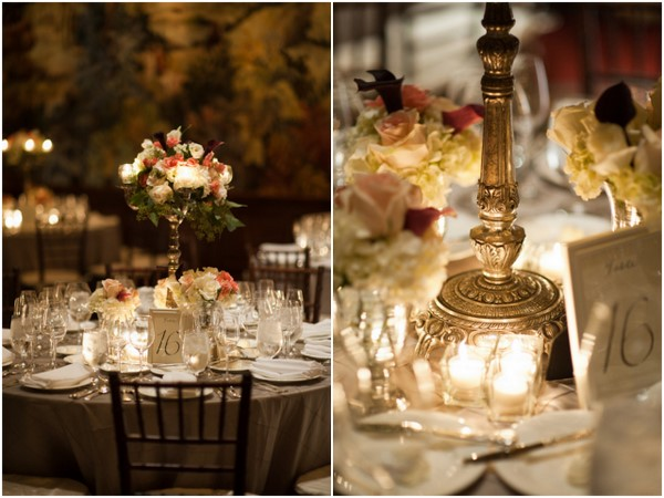 Vintage Inspired Wedding Tables
