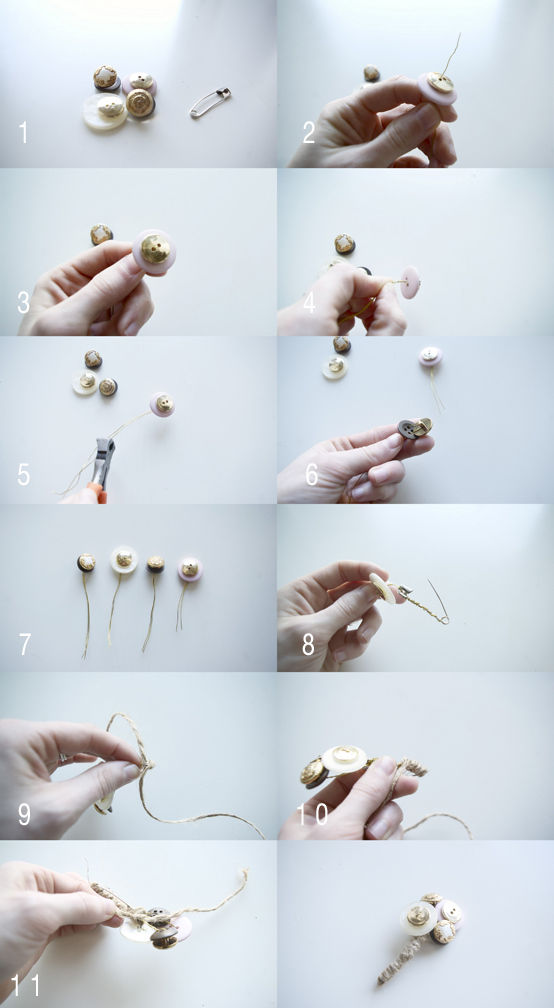 How To Make A Button Boutonniere