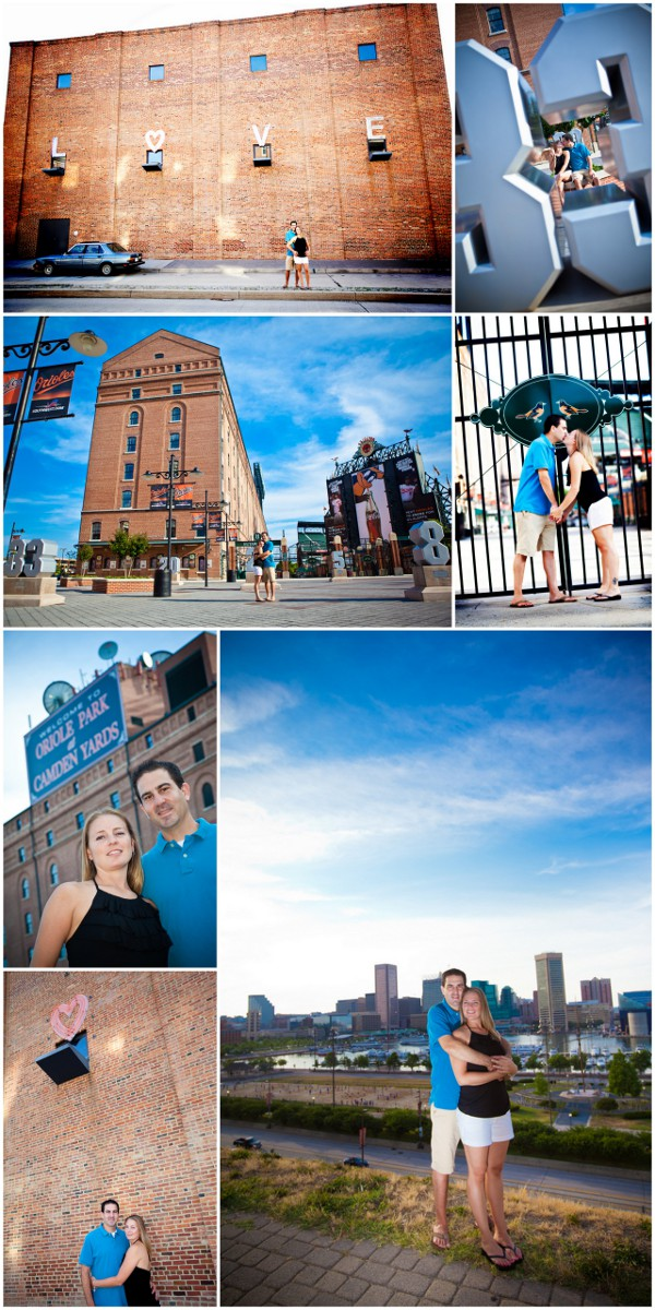 Baltimore Themed Engagement Session