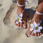 Barefoot Casual Beach Wedding in Forster NSW by Bella Photo Art
